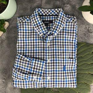 Johnnie-O Nelson Check Button-Down Shirt